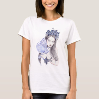 Owl With A Dreamy Girl T-Shirt