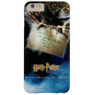 Owl with Letter Movie Poster Barely There iPhone 6 Plus Case