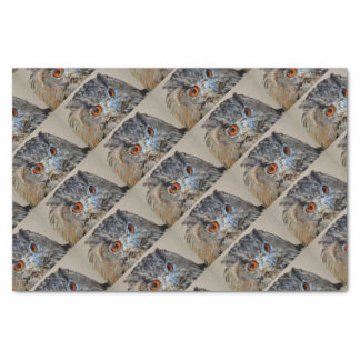 OWL WITH ORANGE EYES WRAPPING SUPPLIES TISSUE PAPER