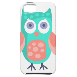 Owl With Party Attributes Girly Stylized Funky Case For The iPhone 5