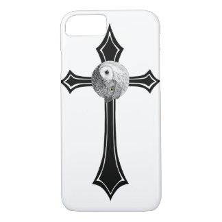 Owl Yin Yang Cross iPhone 7 Case