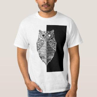 Owl Yin Yang T-Shirt