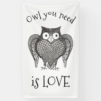 Owl you Need Banner