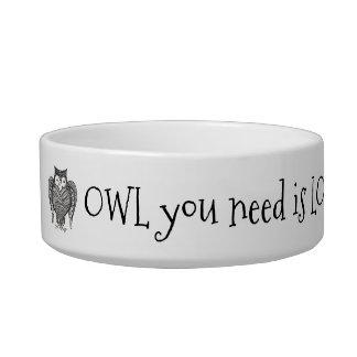 Owl you Need Bowl