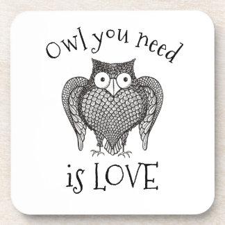 Owl you Need Coaster