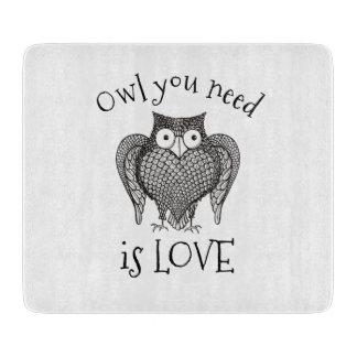Owl you Need Cutting Board