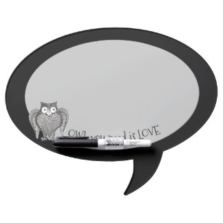 Owl you Need Dry Erase Board