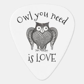 Owl you Need Guitar Pick