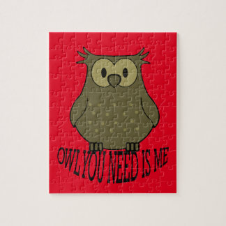 owl you need is me jigsaw puzzle
