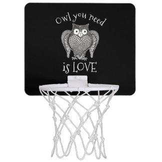 Owl you Need Mini Basketball Hoop