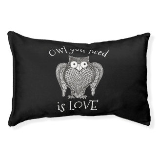 Owl you Need Pet Bed