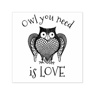 Owl you Need Self-inking Stamp