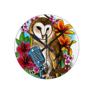 Owlie Wallclocks