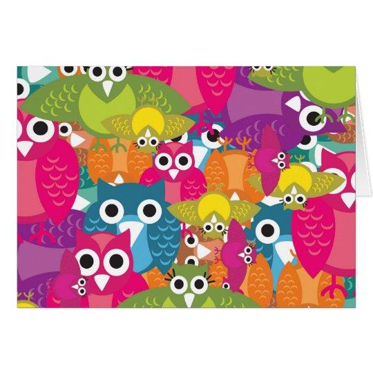 owlish card