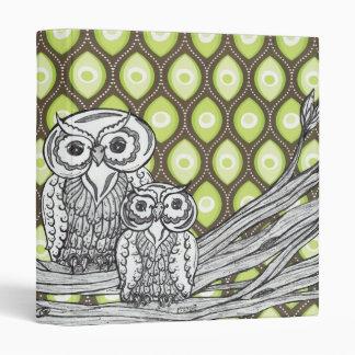 Owls 11 Binder