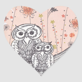 Owls 15 stickers