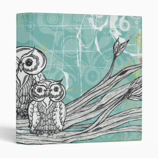 Owls 16 Binder
