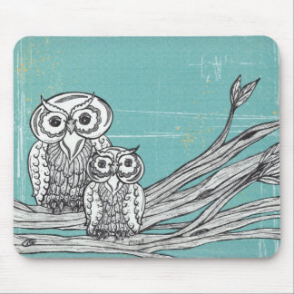 Owls 18 Mousepad