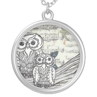 Owls 22 Necklace