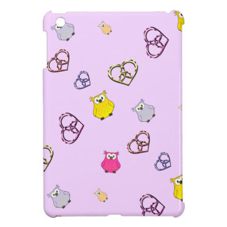 Owls and Hearts Case For The iPad Mini