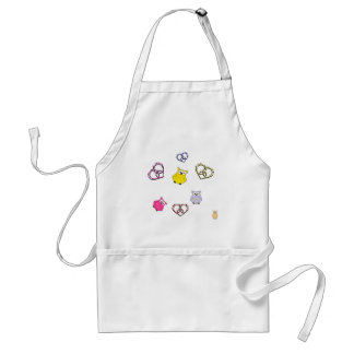 Owls and Hearts Standard Apron