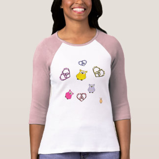 Owls and Hearts T-Shirt