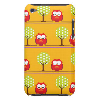 Owls and Trees Barely There iPod Cases