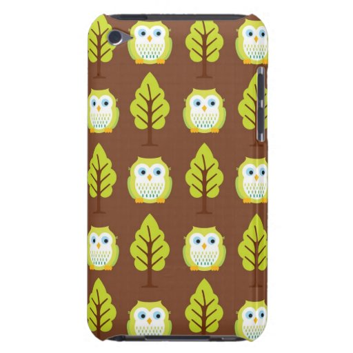 Owls and Trees iPod Touch Case-Mate Case
