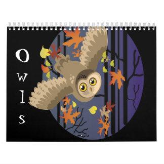 Owls, Calendar