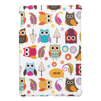 Owls Galore iPad Mini Case