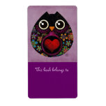 Owl's Hatch Bookplates Labels