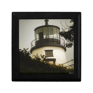 Owls Head Lighthouse Jewelry Boxes