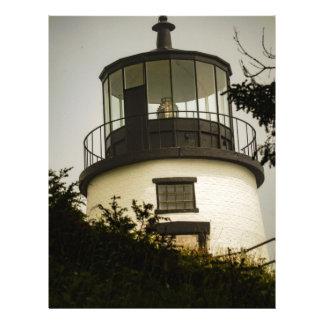 Owls Head Lighthouse Letterhead