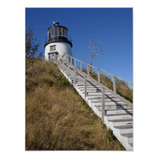 Owl's Head Lighthouse, Maine Poster
