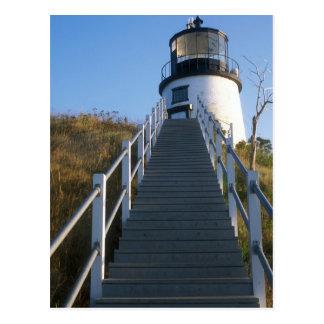 Owl's Head Lighthouse Rockland Maine Postcard