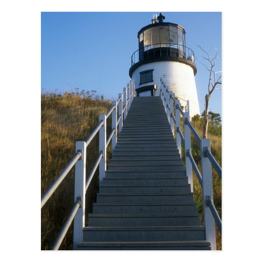 Owl's Head Lighthouse Rockland Maine Postcard