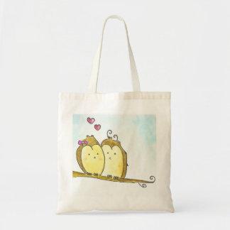 Owls in Love Tote Bag
