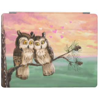 Owls in love iPad cover