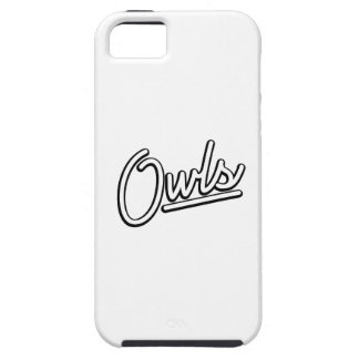Owls in white iPhone 5 covers