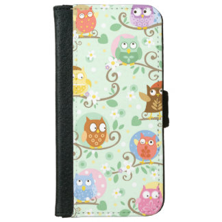 Owls Iphone 6/6S Wallet Case