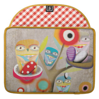 Owls Rickshaw Flap Sleeve Sleeve For MacBooks