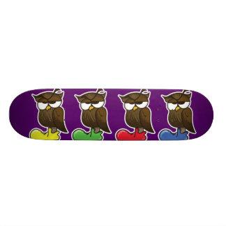 Owls Custom Skate Board