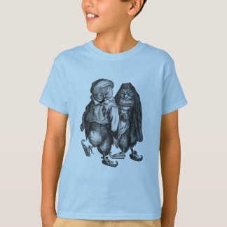 owls skating vintage T-Shirt