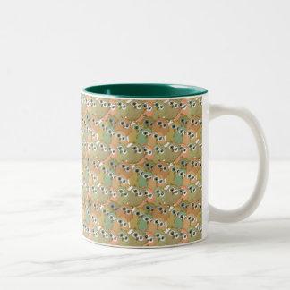 Owls Two-Tone Coffee Mug