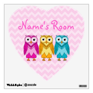 Owls Wall Sticker
