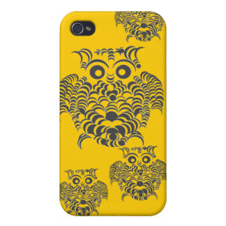 Owly Abstract iphone cases iPhone 4 Case