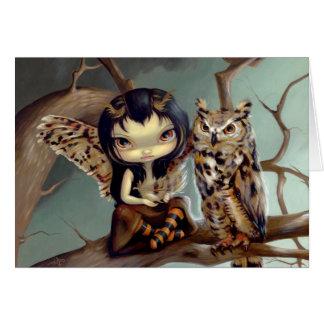 """""""Owlyn"""" Greeting Card"""