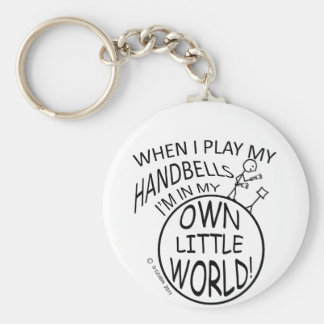 Own Little World Handbells Keychain