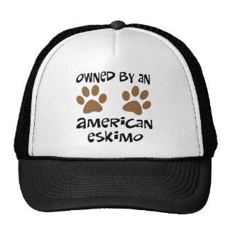Owned By An American Eskimo Trucker Hats