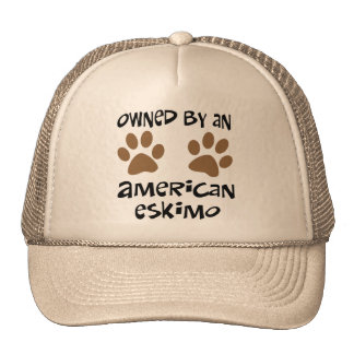 Owned By An American Eskimo Trucker Hat